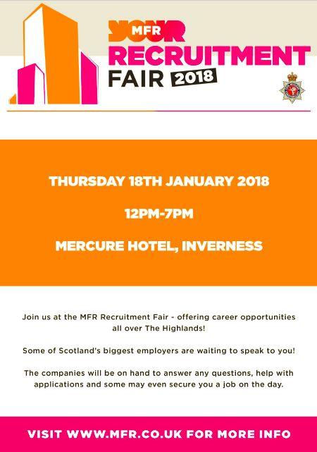 MFR Recruitment Fair Poster