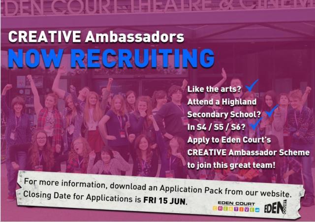 Eden Court Creative recruitment