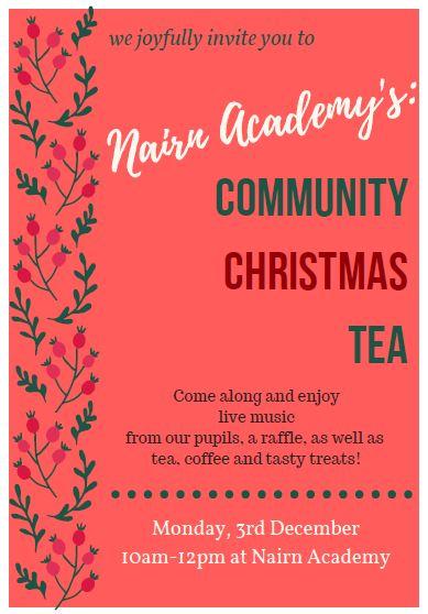 Community Christmas Tea