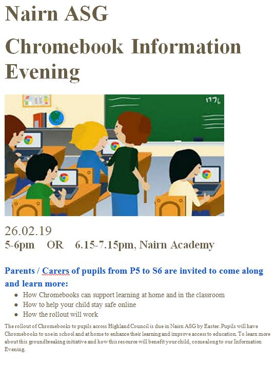 chromebook info evening