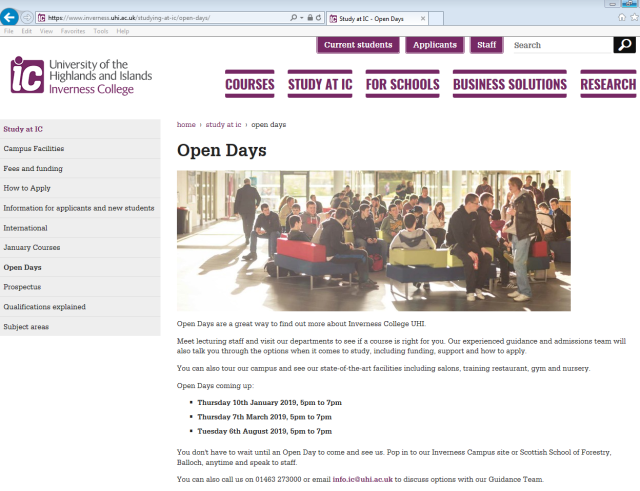 ic open eve