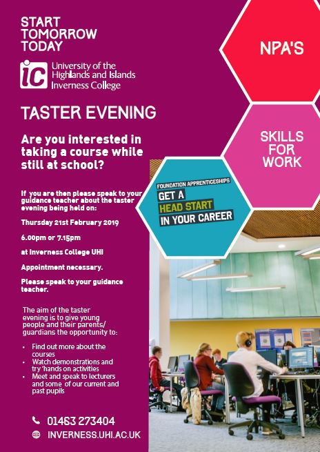 ic taster evening feb 19
