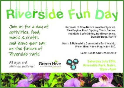 Riverside Fun Day, e-invitation